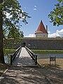 Kuressaare Castle Artillery Tower and the bridge.jpg