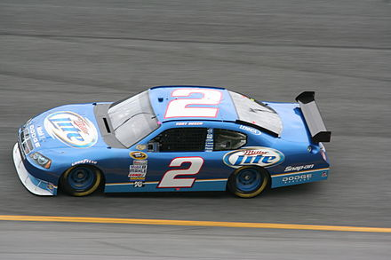"2008 Dodge Charger ""Car of Tomorrow"", driven by Kurt Busch Kurt Busch 2008 Miller Lite Dodge Charger.jpg"