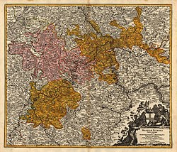 The Electorate of Trier in 1720