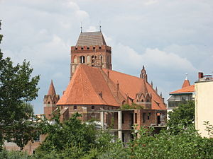 Bishopric of Pomesania - The former cathedral at Kwidzyn.