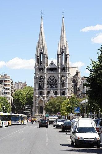 Église Saint-Vincent-de-Paul - Image: L'église Saint Vincent de Paul dite des Réformés Marseille FRA 001