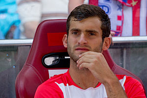 Léo Baptistão - Baptistão with Atlético Madrid in 2013