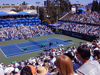 Los Angeles Open (tennis) - Straus Stadium at the L.A. Tennis Center, on the UCLA campus.