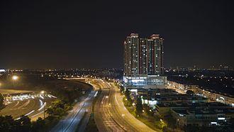 Damansara–Puchong Expressway - Image: LDP Terminus USJ