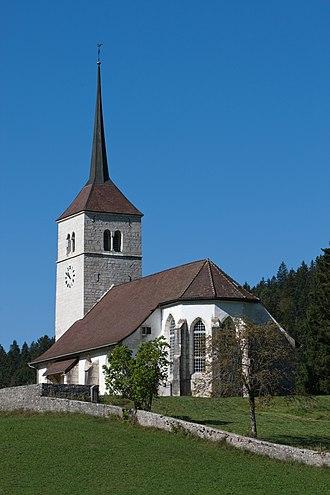 La Sagne - Image: La Sagne Eglise