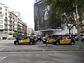 La Gran Via col·lapsada per la protesta dels taxis 20180727 174534.jpg