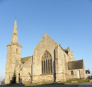La Roche-Derrien - The church of La Roche-Derrien