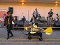 Lafayette Steampunk 2013 Airplane Stage.JPG
