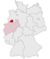 Lage des Kreises Steinfurt in Deutschland.PNG