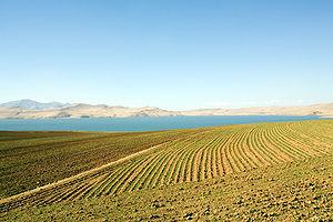 Lake Nazik - The south-eastern shore of Lake Nazik