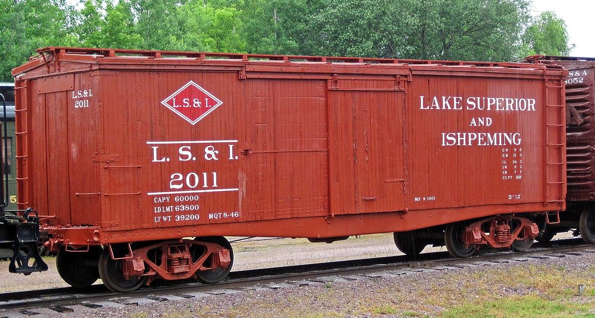 Lake Superior And Ishpeming Railroad Wikipedia