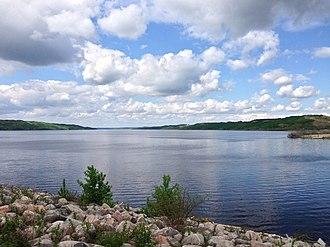 Shellmouth Reservoir - Image: Lakeofthe Prairies 1