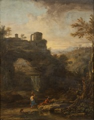 Landscape with a Tholos