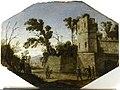 Landscape with tower and ball players, Adrien Manglard, Musée des Beaux-Arts, Ajaccio (Musée Fesch).jpg