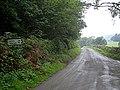 Lane junction at Little House Wood - geograph.org.uk - 967280.jpg