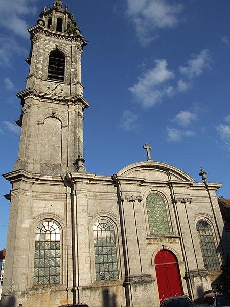 Eglise Saint-Martin - Langres (Лангр), Шампань-Арденны, Франция - достопримечательности Лангра, путеводитель по городу. Что посмотреть в Лангре, путеводитель по Шампани и Франции