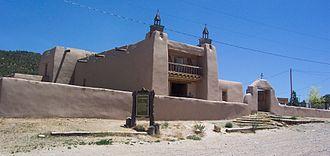 Taos County, New Mexico - Las Trampas