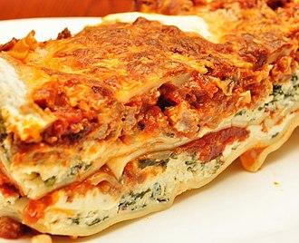 Lasagne - Image: Lasagna (1)