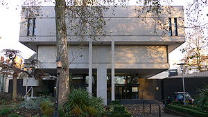 Denys Lasdun - The Royal College of Physicians building is one of very few Grade I Listed post war buildings.