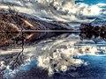 Last light on padarn lake. (39333851864).jpg