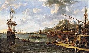 Laureys a Castro - A Mediterranean harbour