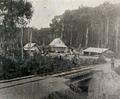 Lawa Railway in Suriname - Terminus at Dam, 1915.png
