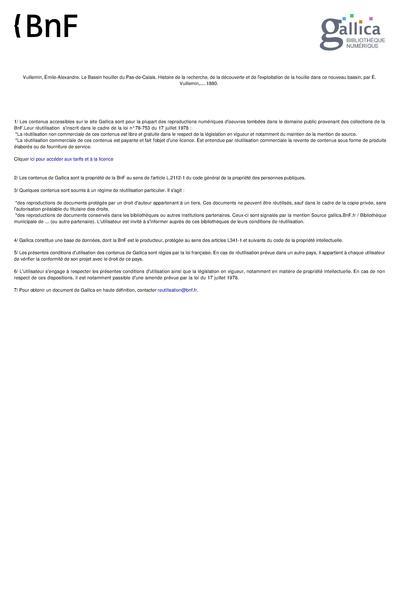 File:Le Bassin Houiller du Pas-de-Calais. Tome I - Émile Vuillemin.pdf