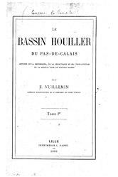 Émile Vuillemin: Bassin houiller du Pas-de-Calais