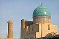 Le grand dôme bleu de la mosquée Kalon (Boukhara, Ouzbékistan) (5675192170).jpg