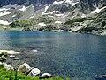 Le lac qui est en face du Refuge d'Arrémoulit.jpg