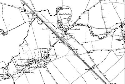 Map showing Wauluds Bank and Leagrave from 1889 Leagrave1889.jpg