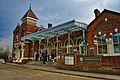 Leatherhead Railway Station, Main Entrance.jpg