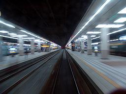 Leaving Yongsan Station