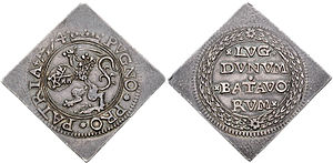 Klippe (coin) - Image: Leiden 1574 789261