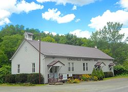 Community Hall in Lenoxville