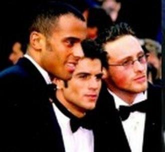 2Be3 - Left to right : Adel Kachermi, Filip Nikolic, Frank Delay