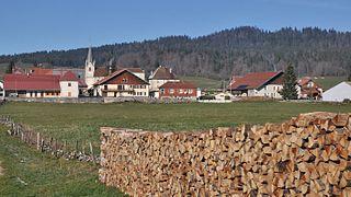 Les Pontets Commune in Bourgogne-Franche-Comté, France