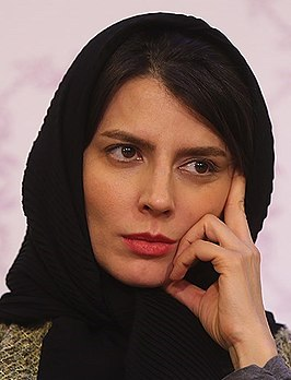 Leila Hatami op het Fajr International Film Festival in 2015