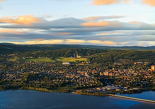 Lillehammer Municipality in Oppland, Norway