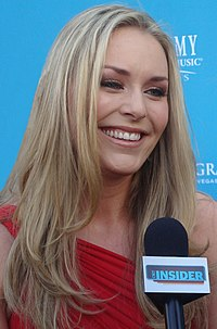 Lindsey Vonn i april 2010.
