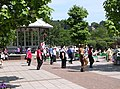 Line dancing in Dartmouth - geograph.org.uk - 193394.jpg
