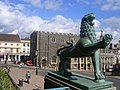 Lion outside Norwich City Hall - geograph.org.uk - 155166.jpg