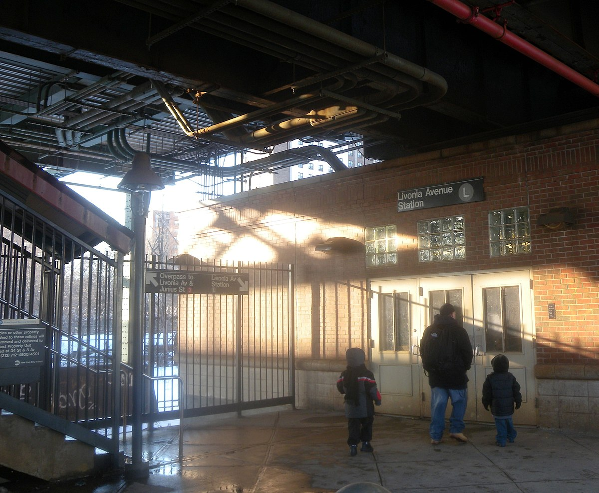 City Line Avenue >> Livonia Avenue station - Wikipedia