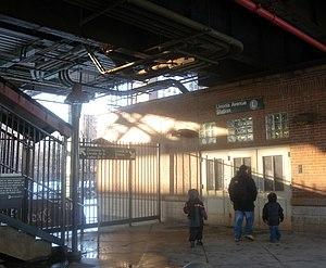 Livonia Avenue (BMT Canarsie Line) - Ground level entrance