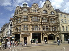 Cornmarket street shopping centre