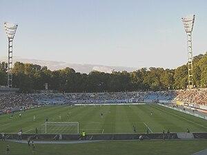 Valeriy Lobanovskyi Dynamo Stadium - Image: Lobanovsky Dynamo Stadium