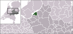 Location of Harderwijk