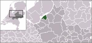 Hierden - Image: Locatie Harderwijk