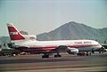 Lockheed L-1011-385-1 TriStar 1 N31014 11014 Trans World Airlines, Phoenix (PHX) - USA, August 1990. (5719628040).jpg