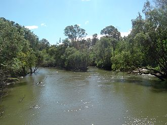 Logan River - Image: Logan River 1